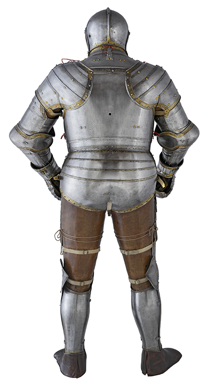 Rear view of Henry VIII's 1540 armour