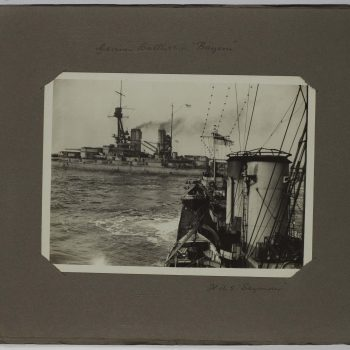 battleships at sea