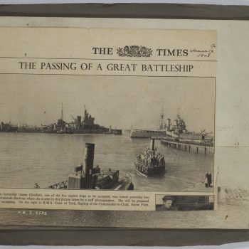 newspaper cutting from The Times