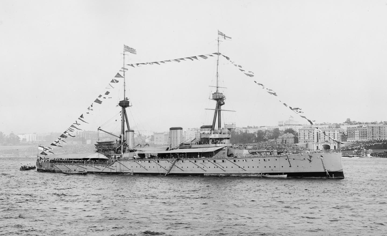 First World War war ship