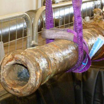 Conserving a composite 'minion drake' gun
