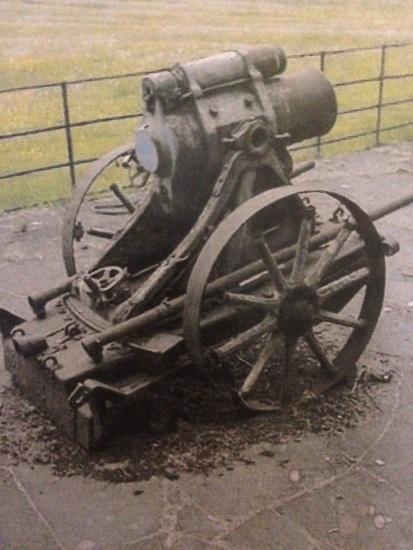 German 25 cm trench mortar