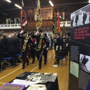 Huddersfield Drill Hall Commemoration