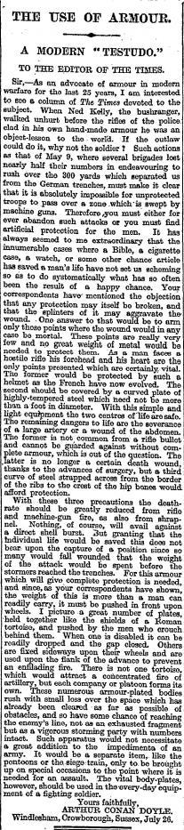 conan doyle Jul 27 1915