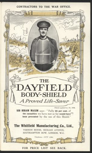 Dayfield Body Shield - proven life saver