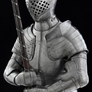 Henry VIII's foot combat armour