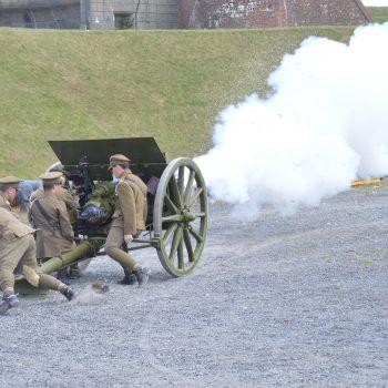 Sunday gun firings