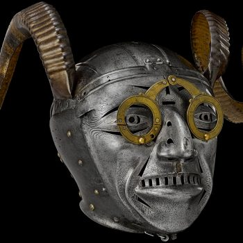 The 'horned helmet'