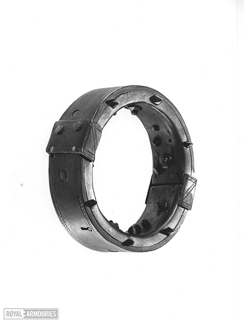 iron collar with studs on the inside