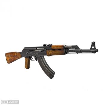 A Kalashnikov rifle