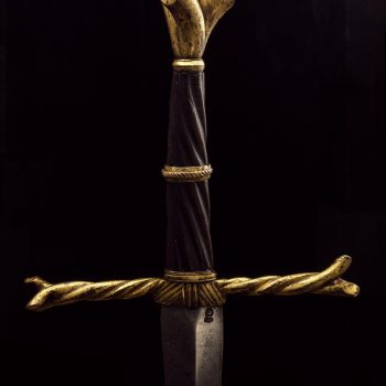 The 'writhen hilt' sword