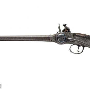 Captain South's Lorenzoni pistol
