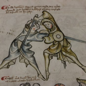 World's oldest fencing manual