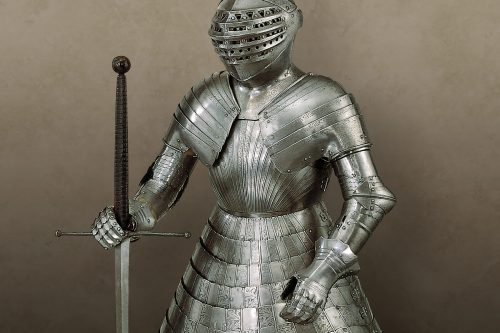 Tonlet armour for field of cloth of gold