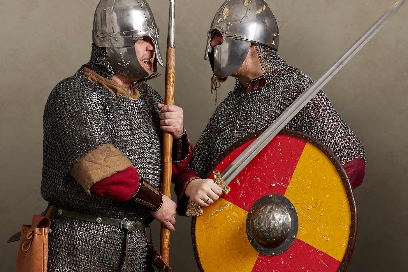Combat: Saxon vs Viking | Royal Armouries