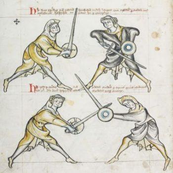 Combat: I.33 – sword and buckler fighting 1300s