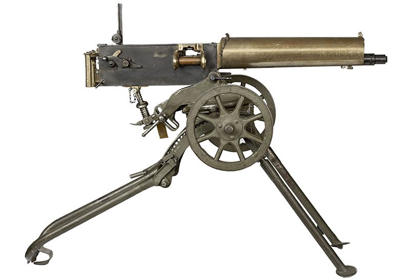 First world war machine gun