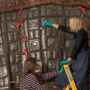 Conserving the treasures of the Royal Armouries