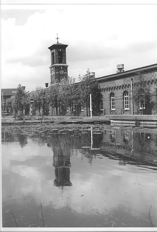 Archive image of factory building
