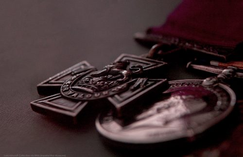 Victoria Cross on display - Lord Ashcroft Collection via IWM (Imperial War Museums)
