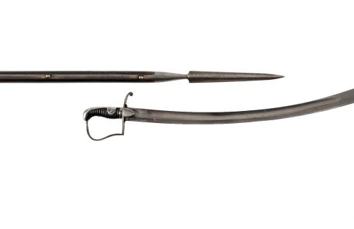 spear and sword
