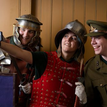 Warfare through time study day