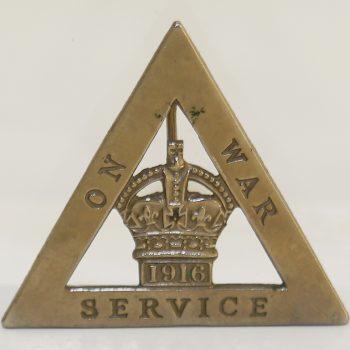 On War Service badges – part 2