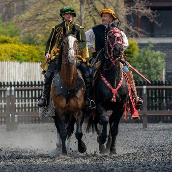 Tudor riding skills