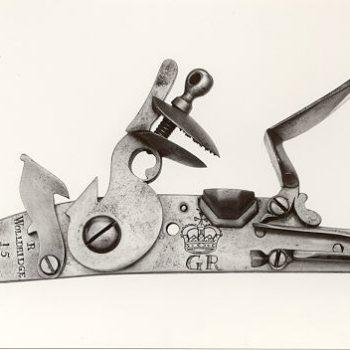 Cleaning Richard Wolldridge's experimental musket