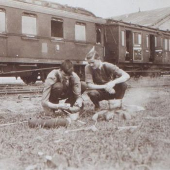 The diary of Private Holden: part three — the journey up the line