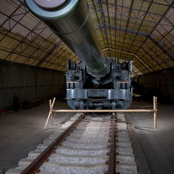 The mighty 18-inch Railway Howitzer