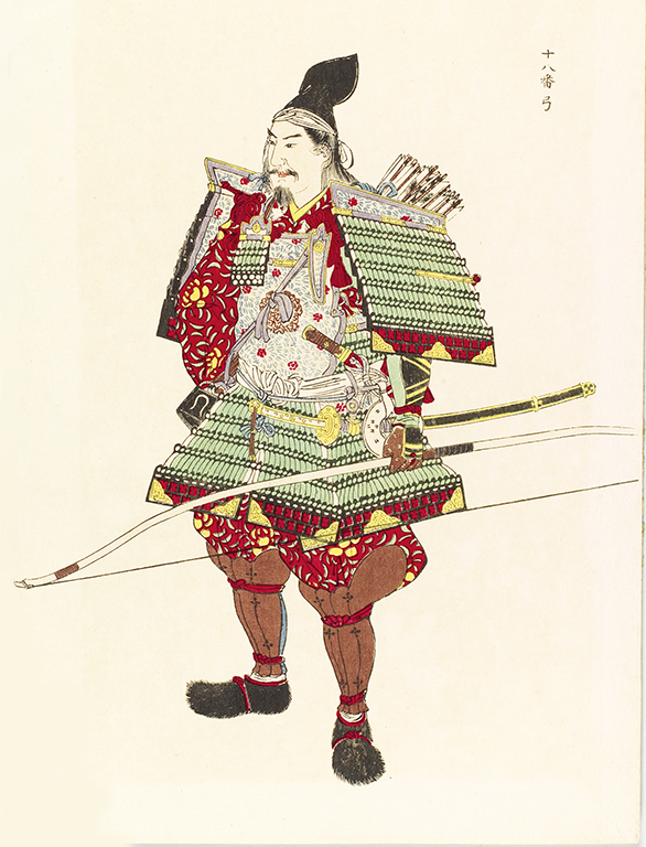 illustration of a japanese warrior