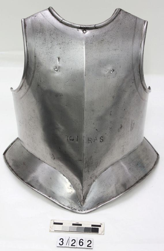 Toiras steel armour for body