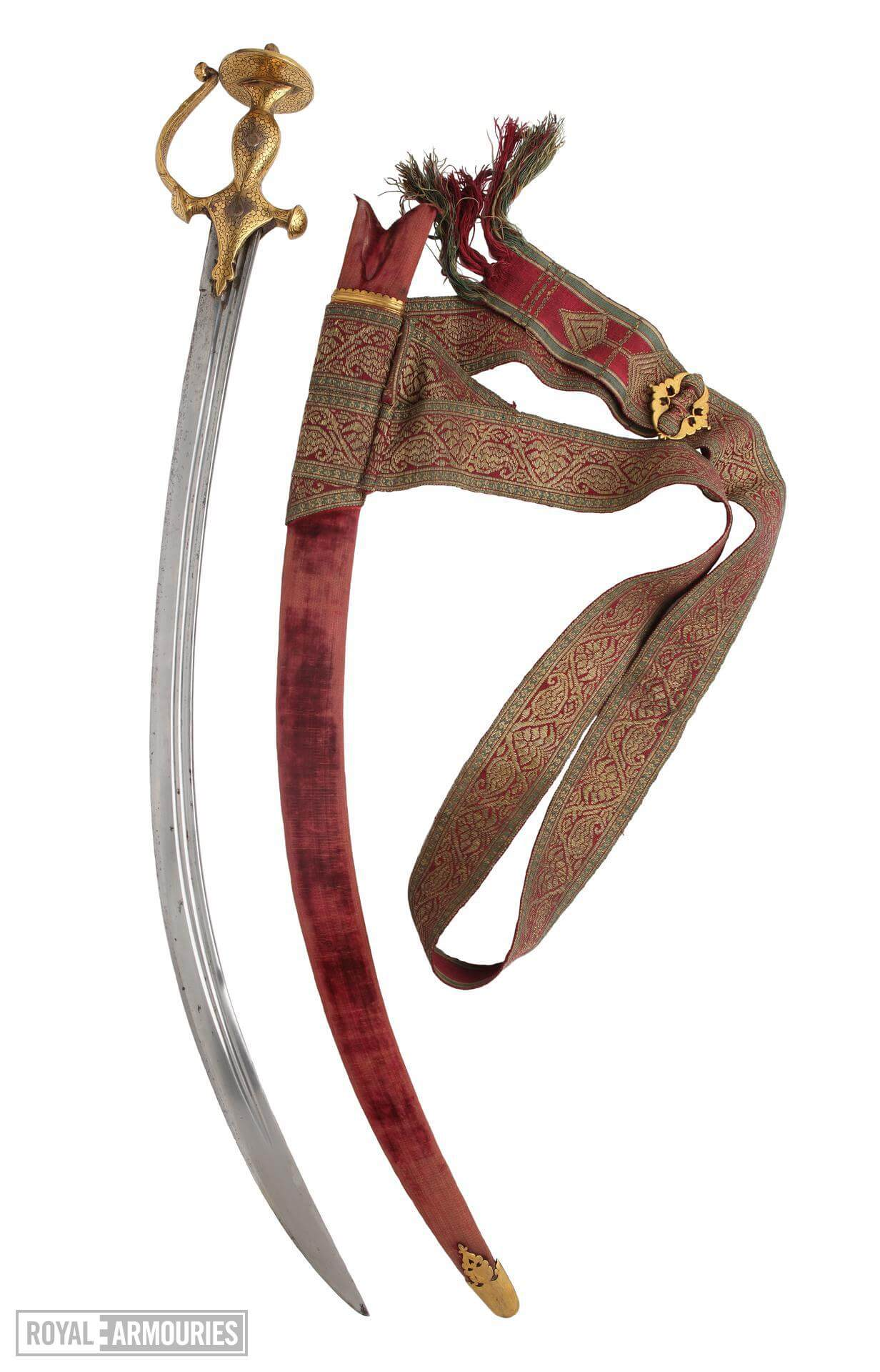 decoratie indian sword and scabbard