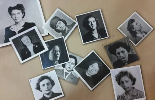 photographs of world war two female SOE agents