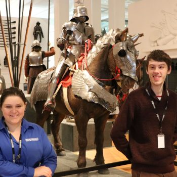 Royal Armouries Voices: Brittany and Tom
