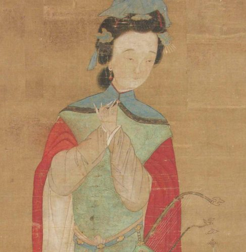 Painting of Mulan from the 18th cenutry