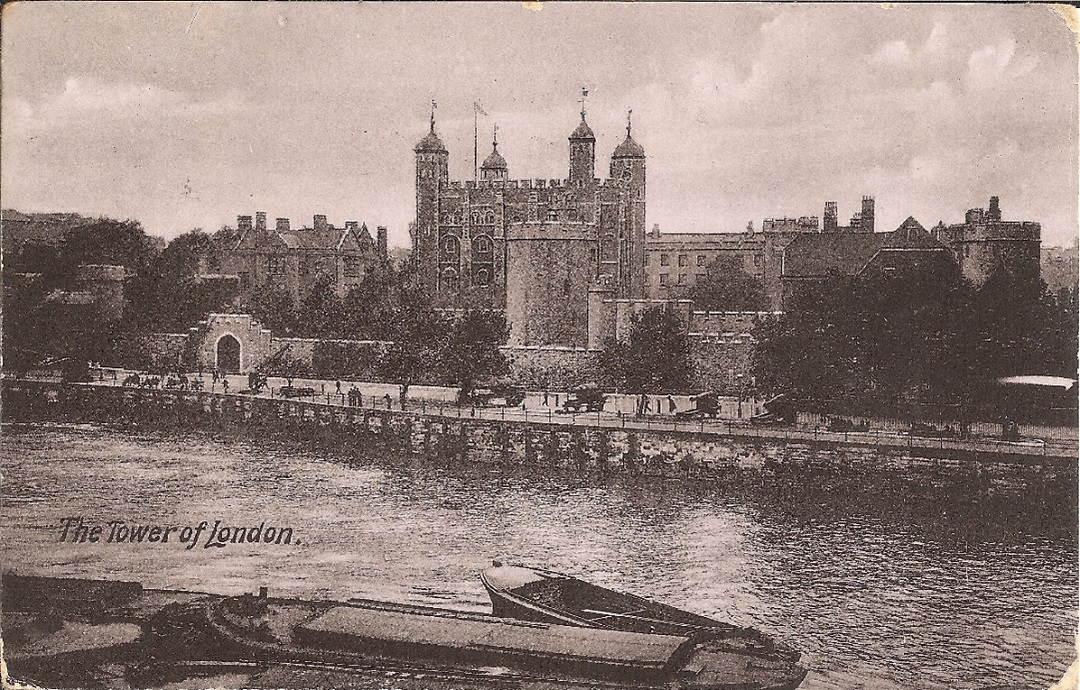 A view of the White Tower from across the river