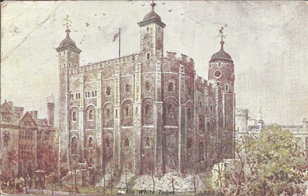 A drawing of the White Tower