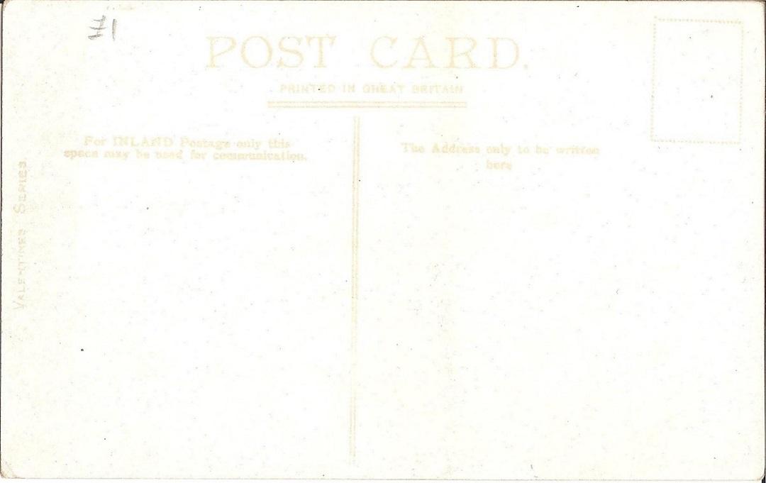 Blank postcard